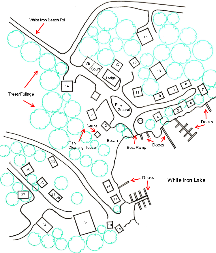 White Iron Beach Campground